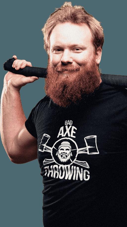 Axe Throwing Guy