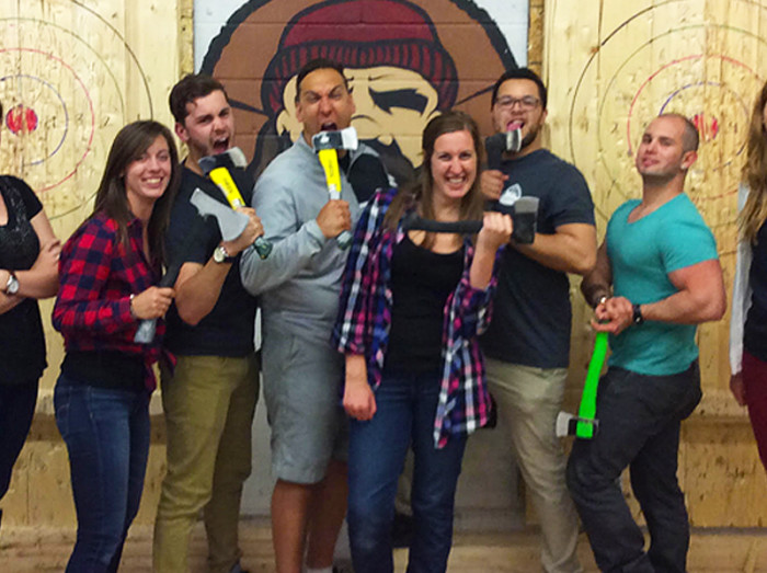 The quick low-down on Bad Axe Throwing Kitchener