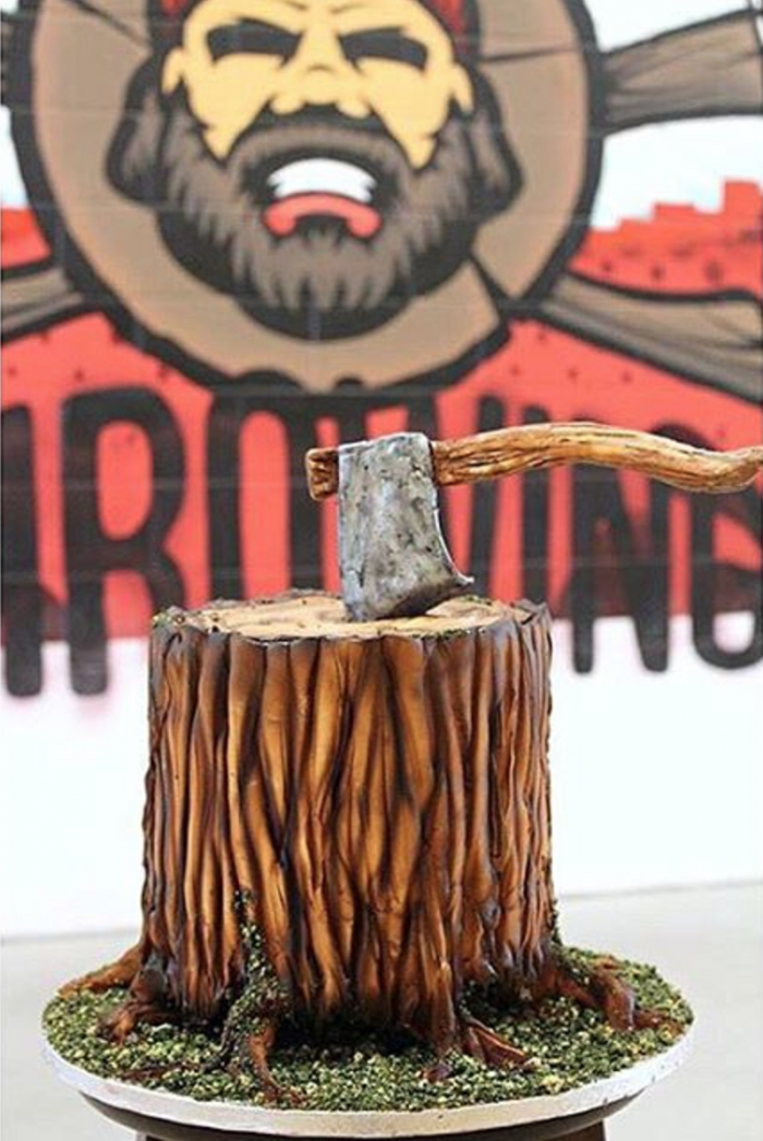 edible axe cake Mississauga