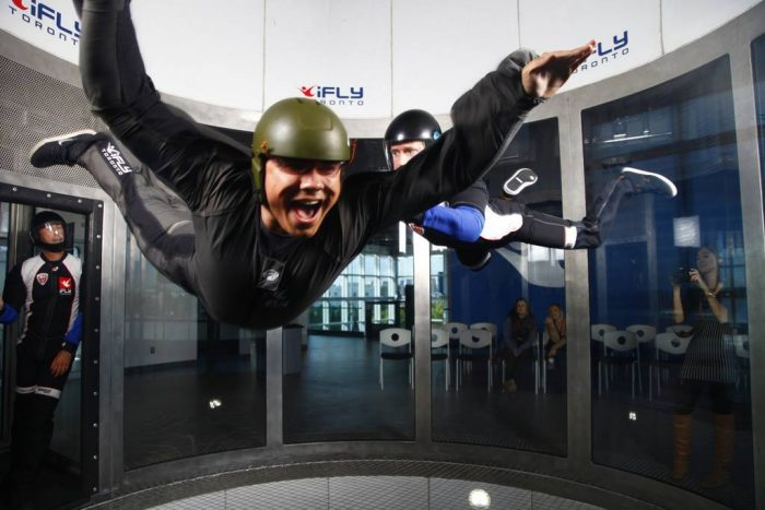 Skydiving at iFly
