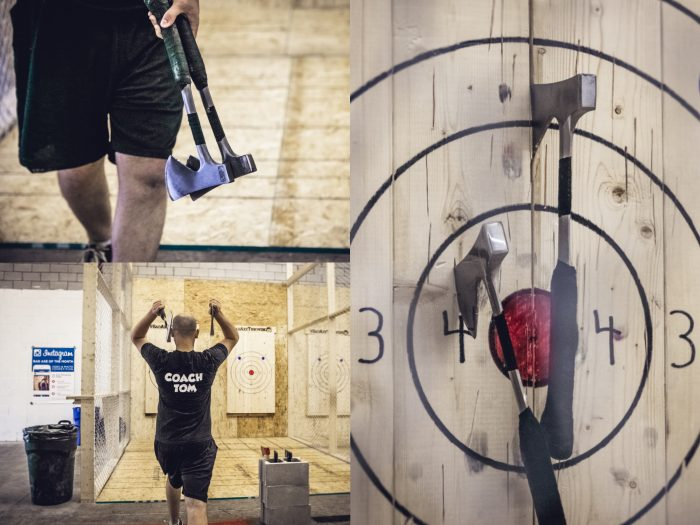 Axe Throwing becoming a sport