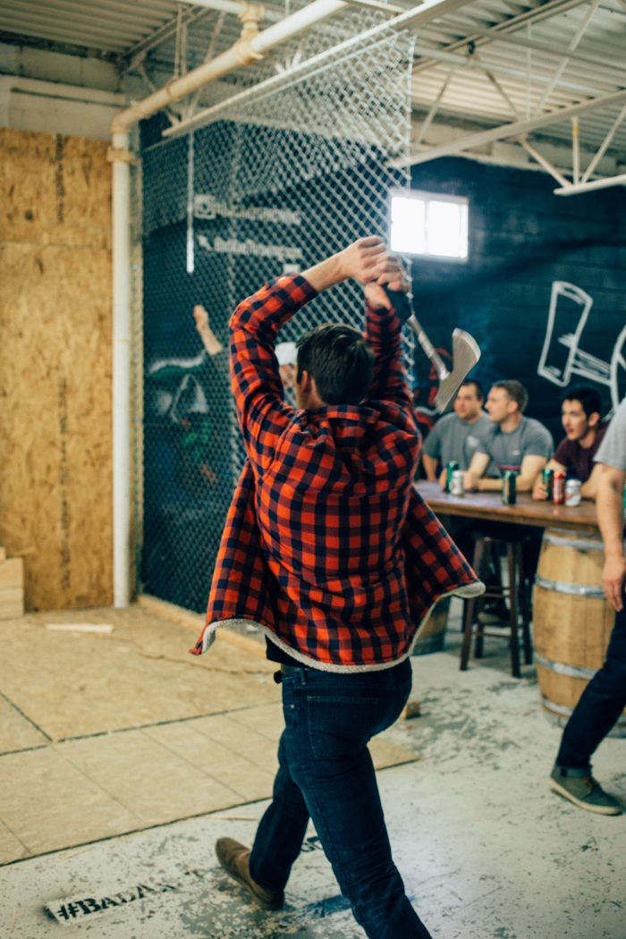 Trip advisor ranks Bad Axe Throwing Toronto #!
