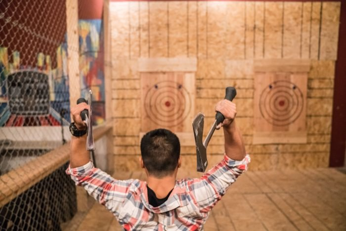 Chicago's Bad Axe Throwing