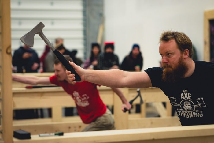 Axe throwing coach