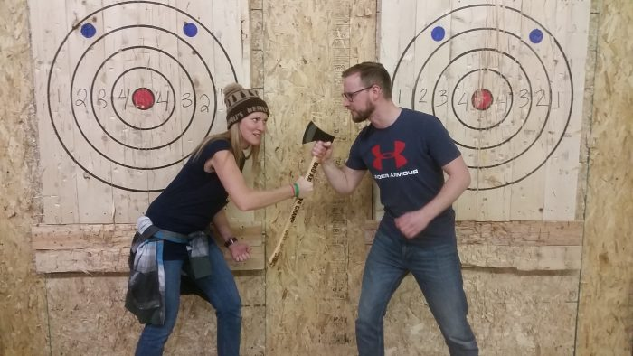 Ottawa Axe Throwing Champion