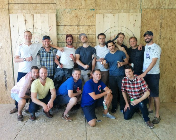 Ottawa Bad Axe Throwing Bachelor