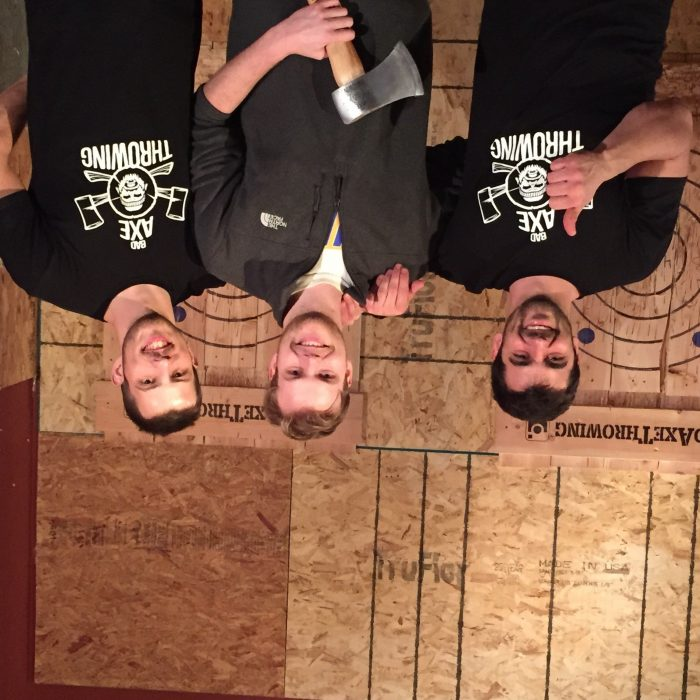 Axe Throwing Champion