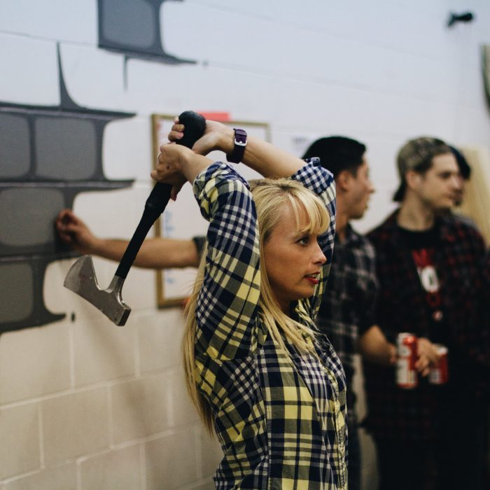 Bad Axe Throwing lessons on how to throw an axe