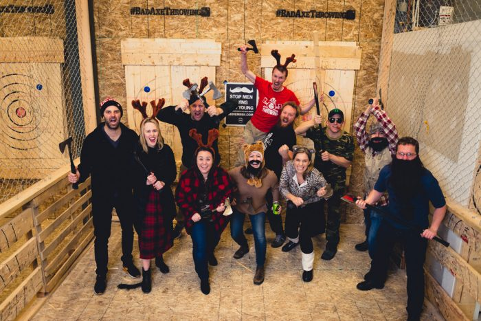 Bad Axe Throwing Oklahoma City Group