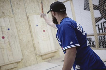 Bad Axe Throwing Toronto lowers admission