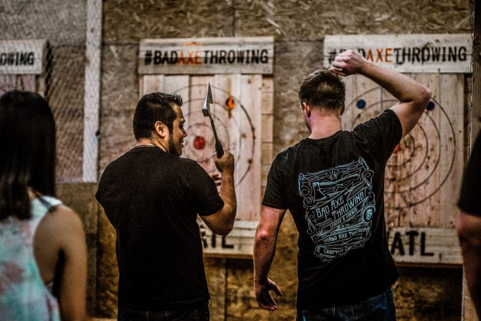 Axe Throwing Lessons!