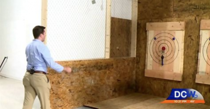 Axe Throwing with DCW50
