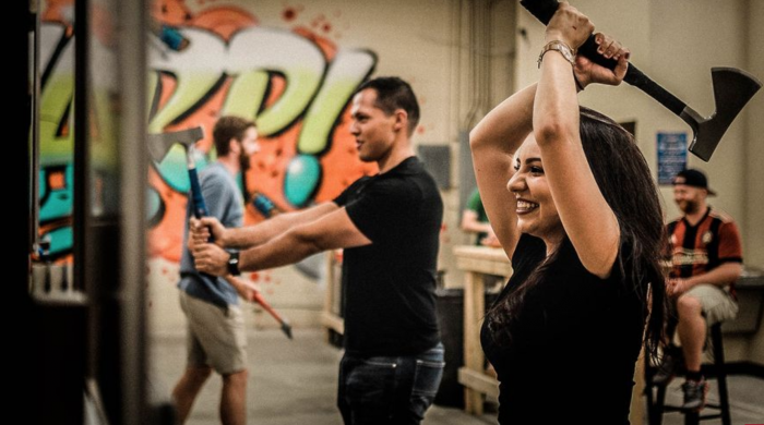 Canadian Axe Throwing Sport Comes to Washington