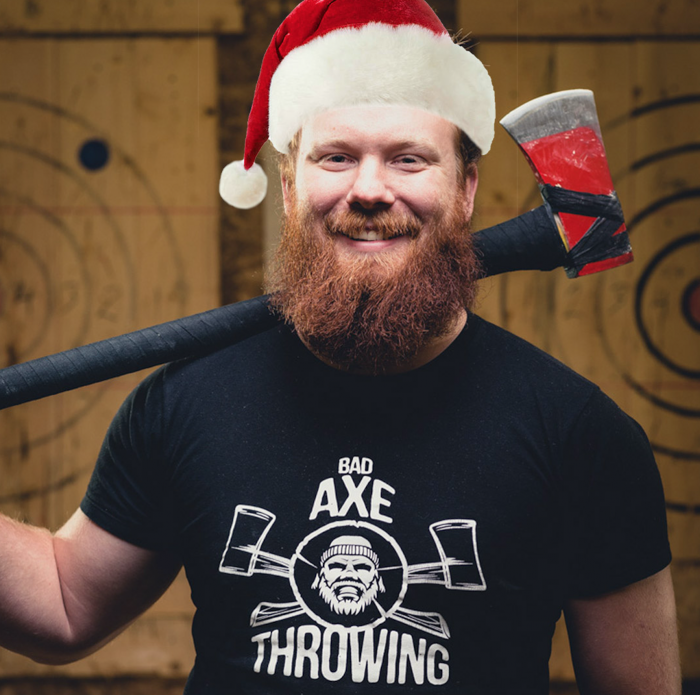 Holiday Season Axe Throwing