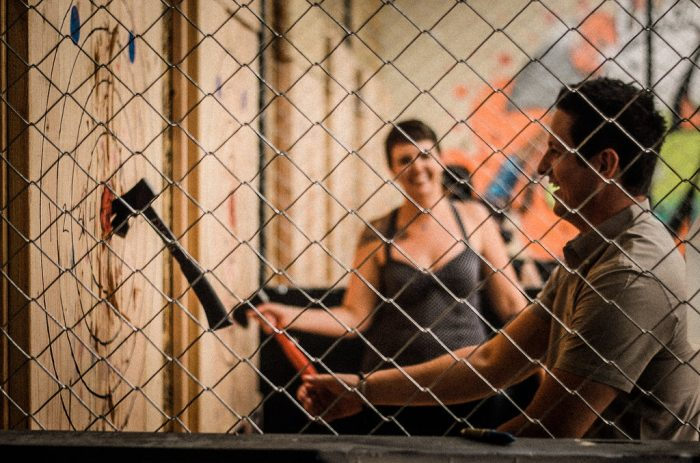 Urban Axe Throwing Popular in Denver