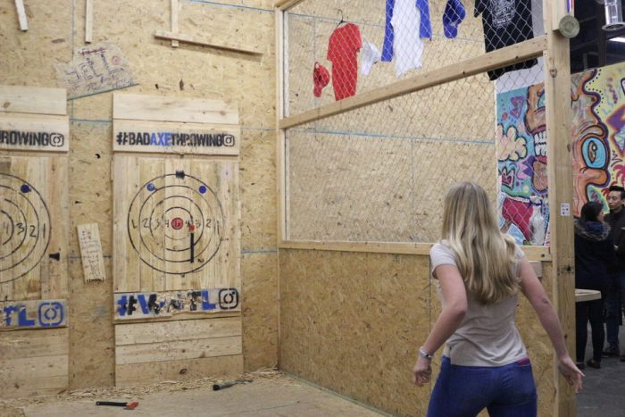Whitney Throwing Axes