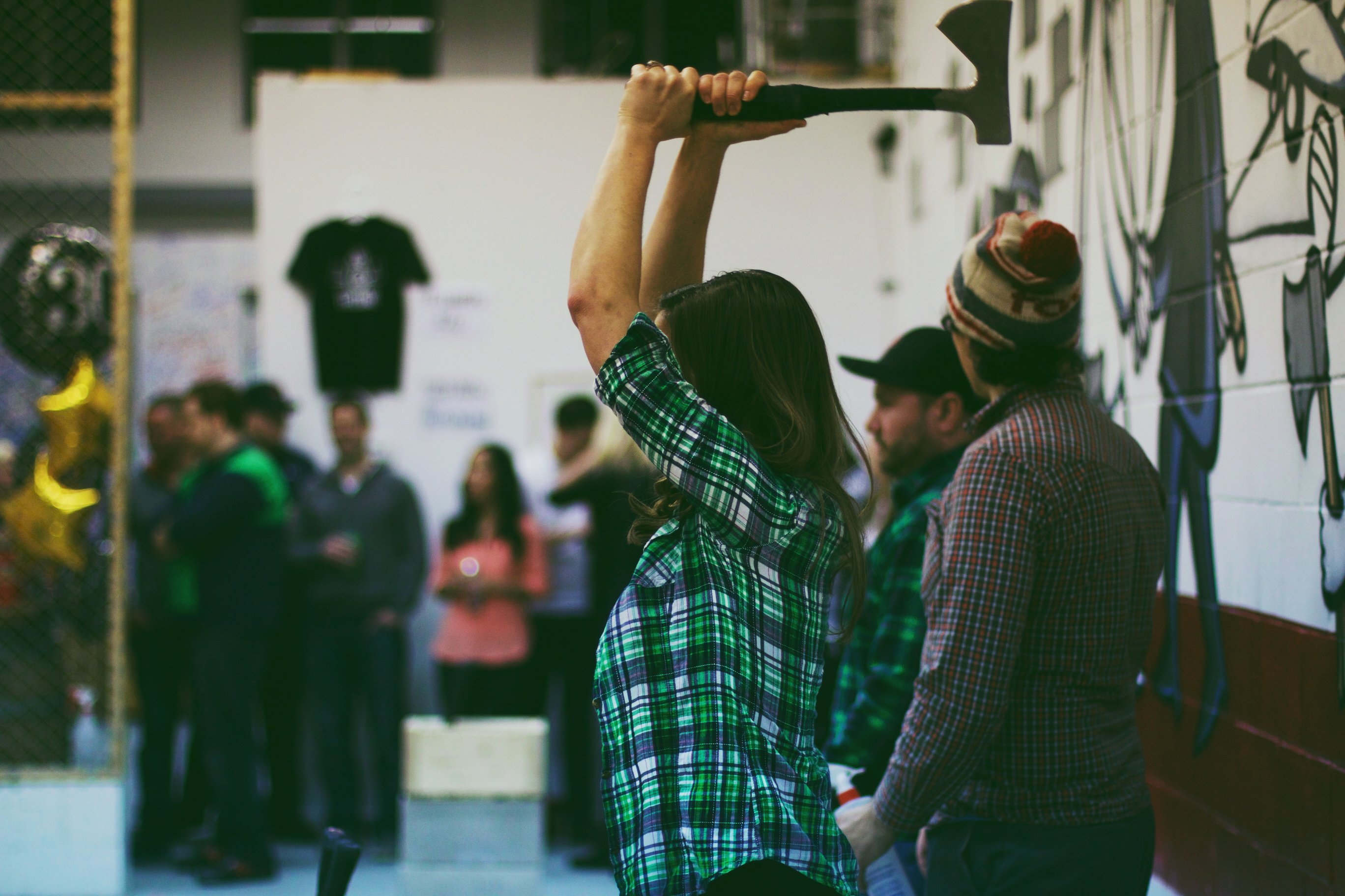 St-Patrick's Axe Throwing